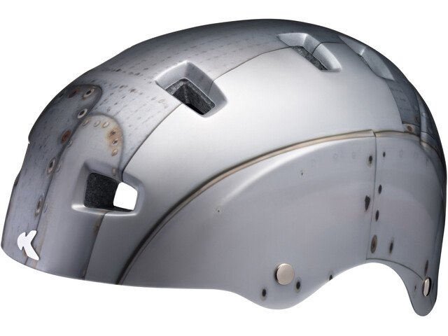 KED Risco Helmet Silver Rusty